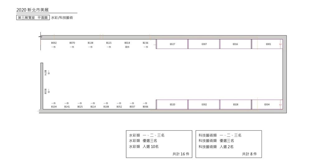 第三展覽室 平配規劃