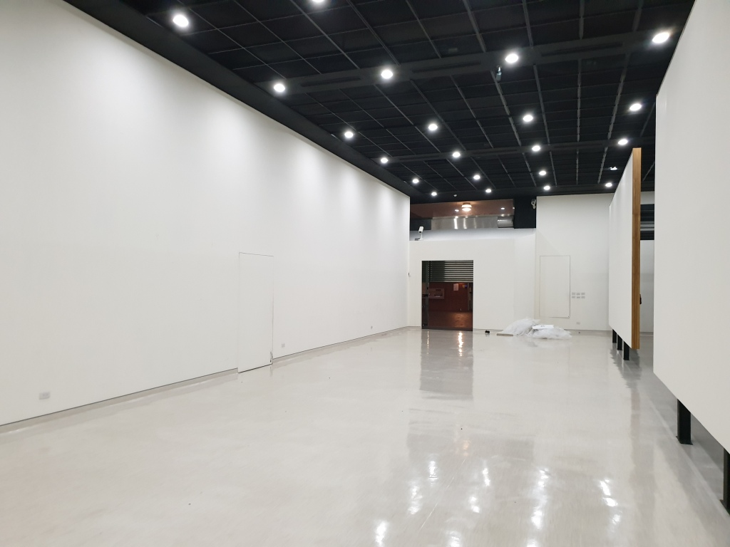 第二展覽室卸展完成