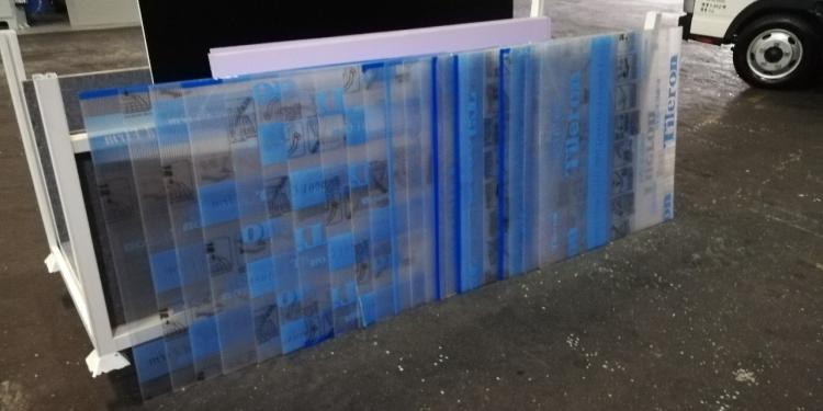 畢業展設計 組合櫃 展示櫃 學生展 組裝 輸出