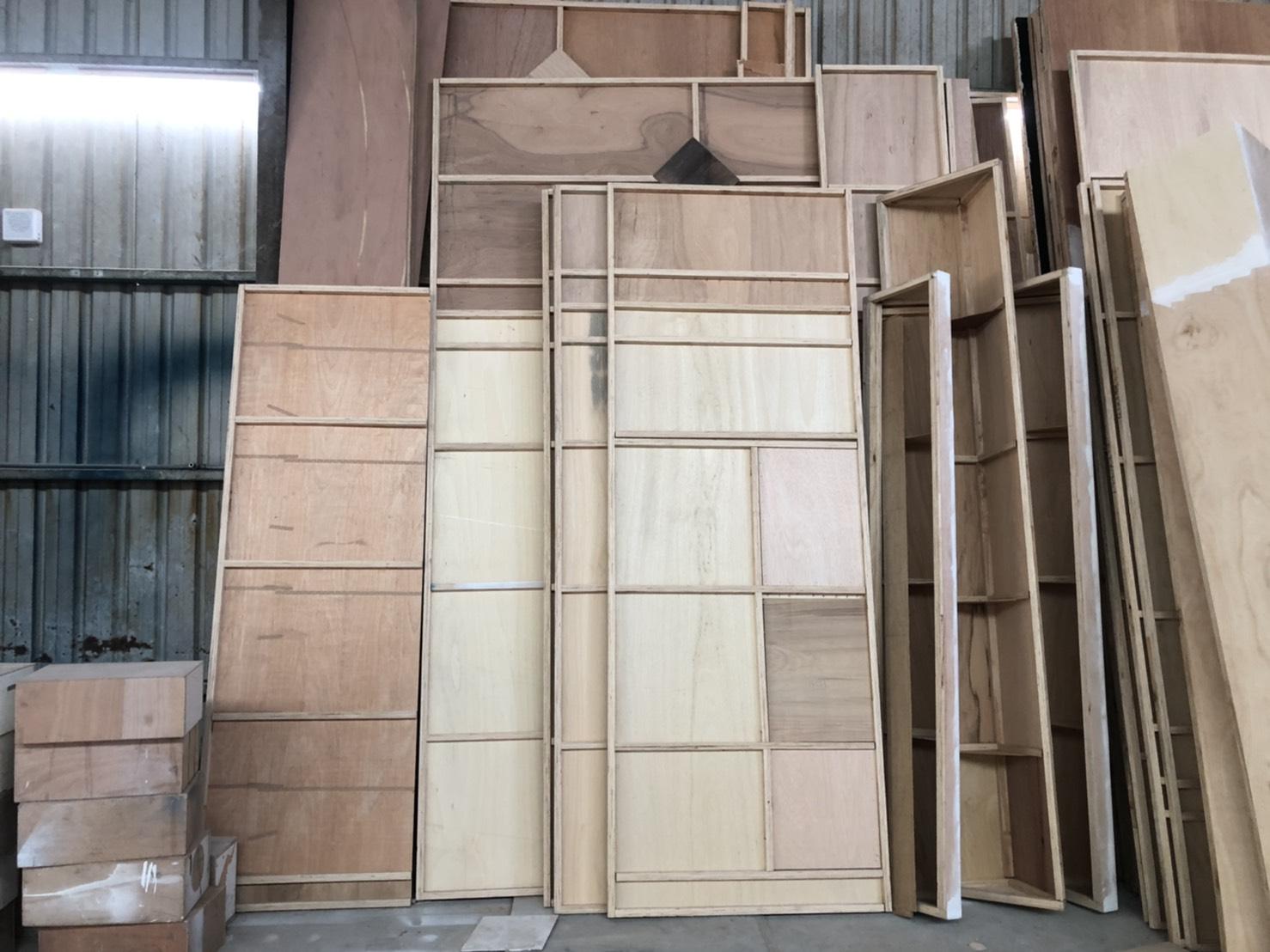 畢業展設計 木作結構 .拼接電視