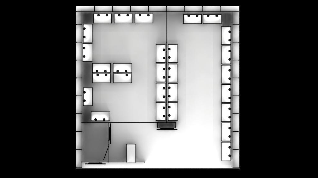 平面配置圖 畢業展 學生展 展櫃 展位規劃設計
