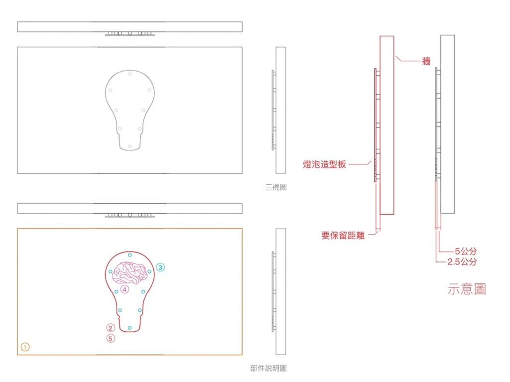 畢業展設計 形象規劃 主視覺設計 柔性霓虹燈管 LED燈條