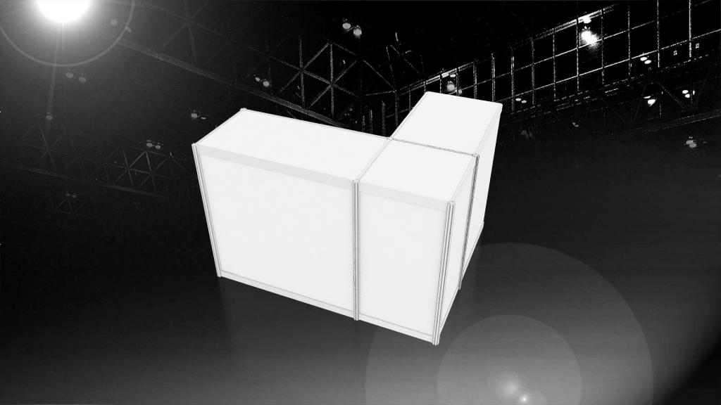 畢業展設計 展區規劃 3D效果示意圖