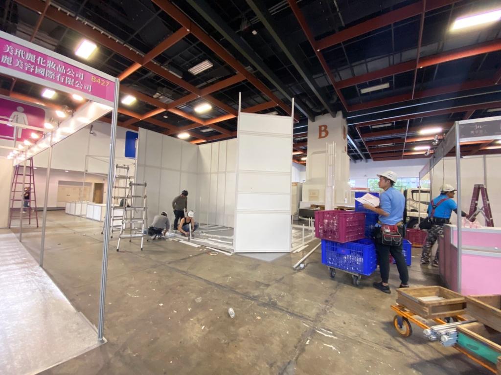 展場攤位設計 進場施工 組合結構
