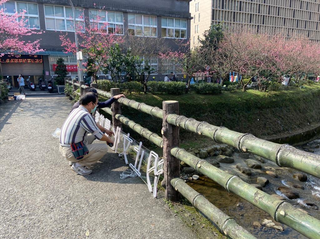 戶外展覽 汐止櫻花季進場