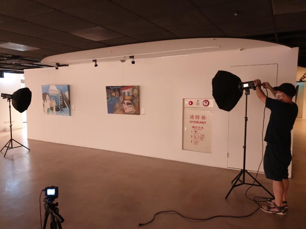 線上展覽作品攝影